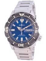 Monstro do mergulhador automático Seiko Prospex Save The Ocean SRPE09 SRPE09J1 SRPE09J Japão feito 200 milhões de relógio mascul