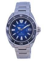"""Relógio masculino Seiko Prospex """"Save The Ocean"""" Edição especial de mergulhador automático SRPE33 SRPE33K1 SRPE33K 200"""