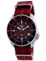 Seiko 5 Sports Sarada Uchiha Limited Edition Automatic SRPF67 SRPF67K1 SRPF67K 100M Men's Watch