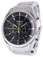 Seiko Chronograph Quartz 100M SSB087 SSB087P1 SSB087P Men's Watch