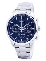 Seiko Quartz Chronograph SSB223 SSB223P1 SSB223P Men's Watch