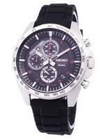 Seiko Motosportz Chronograph Quartz SSB325 SSB325P1 SSB325P Men's Watch