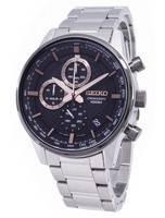 Relógio Seiko Cronógrafo SSB331 SSB331P1 SSB331P Homens De Quartzo