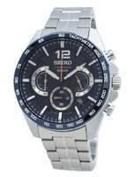 Seiko Chronograph SSB345 SSB345P1 SSB345P Tachymeter Quartz Men's Watch