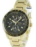 Seiko Pilot's Solar Alarm Chronograph Flightmaster SSC008P2 SSC008 SSC008P Mens Watch