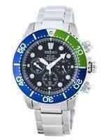 Seiko Solar Chronograph Diver's 200M SSC239 SSC239P1 SSC239P Men's Watch