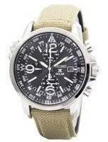 Seiko Prospex Solar Military Alarm Chronograph SSC293 SSC293P1 SSC293P Men's Watch