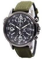 Seiko Prospex Solar Military Alarm Chronograph SSC295 SSC295P1 SSC295P Men's Watch