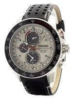 Seiko Sportura Solar Chronograph Perpetual SSC359 SSC359P1 SSC359P Men's Watch