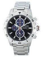 Seiko Solar Chronograph Alarm SSC557 SSC557P1 SSC557P Men's Watch