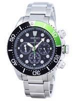 Relógio de cronógrafo solar Seiko Prospex Diver 200M SSC615 SSC615P1 SSC615P