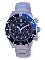 Relógio masculino Seiko Prospex Chronograph Solar Diver SSC781 SSC781P1 SSC781P 200M