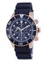 Relógio masculino Seiko Prospex Chronograph Solar Diver SSC786 SSC786P1 SSC786P 200M