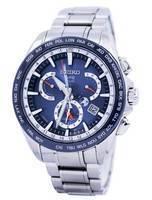 Seiko Astron GPS Solar Dual Time Japan Made SSE053 SSE053J1 SSE053J Men's Watch