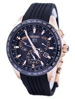 Seiko Astron GPS Solar Dual Time Japan Made SSE055 SSE055J1 SSE055J Men's Watch