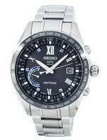 Seiko Astron Titanium GPS Solar World Time Japan Made SSE117 SSE117J1 SSE117J Men's Watch