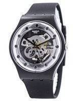 Swatch Originals Silver Glam Swiss Quartz SUOZ147 Unisex Watch