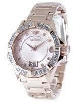 Seiko Quartz Crystals Rose Gold SUR802 SUR802P1 SUR802P Women's Watch