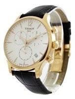 Cronógrafo Tissot T-Classic Tradition T063.617.36.037.00 T0636173603700 Relógio Masculino