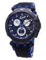 Tissot Coleções Especiais T-Race T115.417.37.057.03 T1154173705703 Relógio Masculino Tacômetro