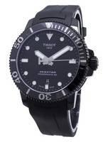 Tissot T-Sport Seastar Powermatic 80 T120.407.37.051.00 T1204073705100 Relógio Automático para Homem 300M