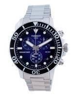 Tissot T-Sport Seastar 1000 Chronograph Quartz Diver's T120.417.11.041.01 T1204171104101 300M Men's Watch