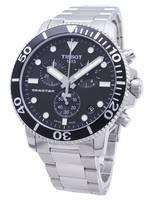 Relógio Tissot T-Sport Seastar 1000 T120.417.11.051.00 Relógio T1204171105100 Cronógrafo 300M