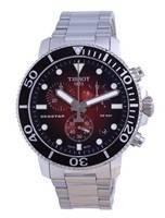 Tissot T-Sport Seaster 1000 Chronograph Diver's Quartz T120.417.11.421.00 T1204171142100 300M Men's Watch