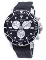 Relógio Tissot T-Sport Seastar T120.417.17.051.00 T1204171705100 Relógio Homem Cronógrafo 300M