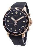 Relógio Tissot T-Sport Seastar 1000 T120.417.37.051.00 Relógio T1204173705100 Cronógrafo 300M