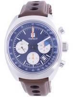 Tissot Heritage 1973 Chronograph Automatic T124.427.16.041.00 T1244271604100 100M Relógio Masculino