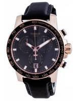 Tissot Supersport Black Dial Chronograph Quartz T125.617.36.051.00 T1256173605100 100M Men's Watch
