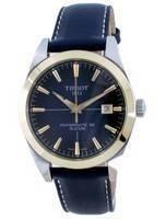 Relógio masculino Tissot Gentleman Powermatic 80 Silicium Automatic 18 K Gold T927.407.46.041.01 T9274074604101