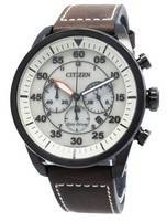 Refurbished Citizen Aviator CA4215-04W Eco-Drive Chronograph Men's Watch