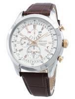 Refurbished Seiko Chronograph SPC129 SPC129P1 SPC129P Perpetual Men's Watch