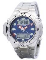 Refurbished Citizen Aqualand Diver Depth Meter Promaster Sea JP1060-52L JP1060 200M Men's Watch