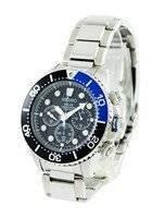 Refurbished Seiko Solar Chronograph Divers SSC017P1 SSC017P Men's Watch