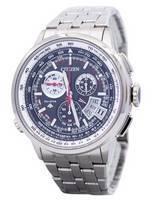 Relógio masculino remodelado Citizen Titanium Promaster por rádio controlado BY0010-52E BY0010 200M