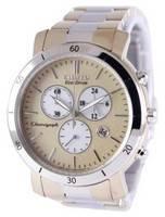 Relógio feminino reformado Citizen Eco-Drive Chronograph FB1346-55Q