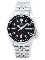 Relógio masculino remodelado Seiko Scuba Diver's SKX013 SKX013K2 SKX013K 200M