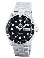 Relógio masculino orient Ray II reformado automático FAA02004B9 200M