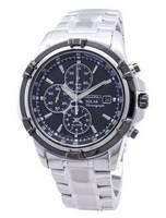 Relógio Seiko Solar Chronograph SSC147 SSC147P1 SSC147P 100M remodelado