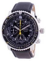 Refurbished Seiko Pilot's Flight Quartz Chronograph Diver's SNA411P1-VAR-LS10 200M Men's Watch
