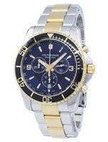 Victorinox Maverick Swiss Army Chronograph Tachymeter Quartz 241791 Men's Watch