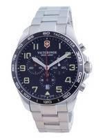 Relógio masculino Victorinox Field Force Swiss Army Quartz 241855 100M