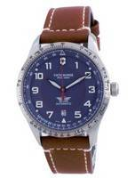 Victorinox Airboss Swiss Army Airboss Blue Dial Automatic 241887 100M Men's Watch