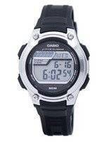Casio Digital 5 Alarms Illuminator W-212H-1AVDF W-212H-1AV Men's Watch