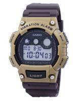 Casio Super Illuminator Vibration Alarm Digital W-735H-5AV W735H-5AV Men's Watch