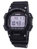 Casio Youth Super Illuminator Vibration Alarm Digital W736H-1AV W-736H-1AV Men's Watch
