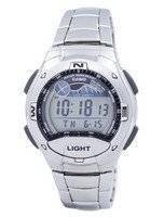 Casio Dual Time Alarm Tide Graph Digital W-753D-1AV W753D-1AV Men's Watch